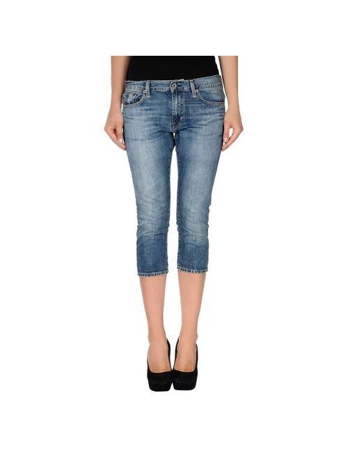 Polo Jeans Company   Мужские Синие Джинсовые Брюки-Капри