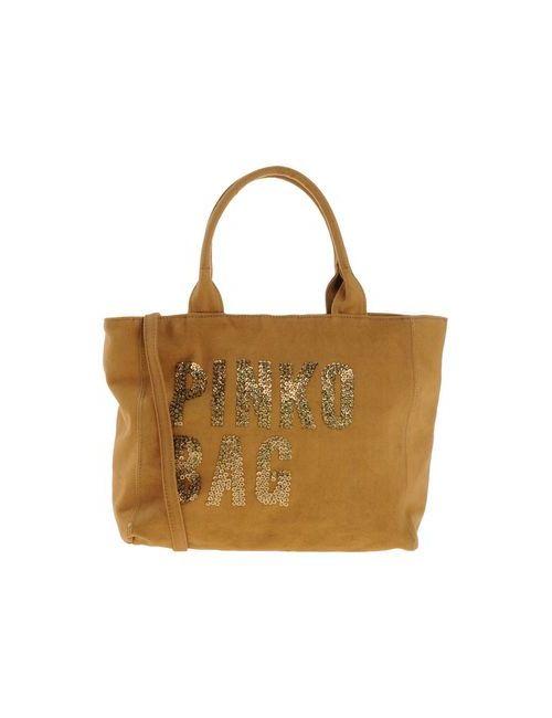 Pinko Bag | Женская Верблюжья Сумка На Руку