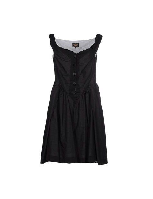 Vivienne Westwood Anglomania | Женское Чёрное Короткое Платье