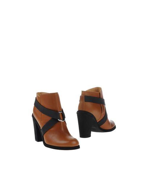 MM6 by Maison Margiela | Женские Коричневые Полусапоги И Высокие Ботинки