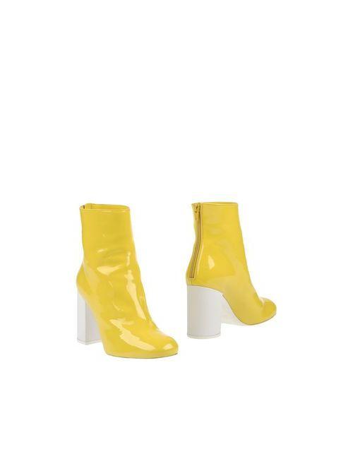 Marios | Женские Жёлтые Полусапоги И Высокие Ботинки