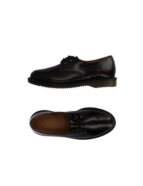 Dr. Martens | Мужская Коричневая Обувь На Шнурках