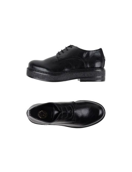 SARA LÓPEZ | Мужская Чёрная Обувь На Шнурках