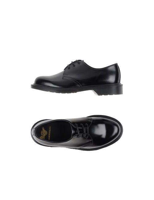 Dr. Martens | Мужская Чёрная Обувь На Шнурках