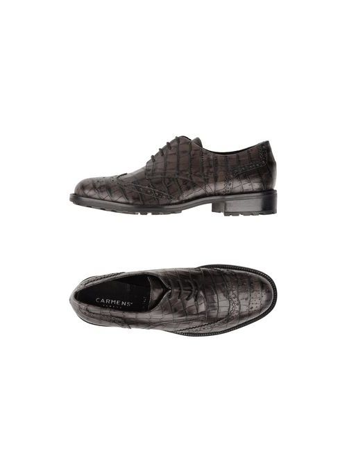 Carmens | Мужская Коричневая Обувь На Шнурках