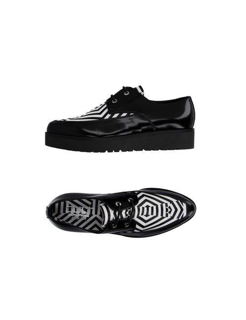 Cult | Мужская Чёрная Обувь На Шнурках
