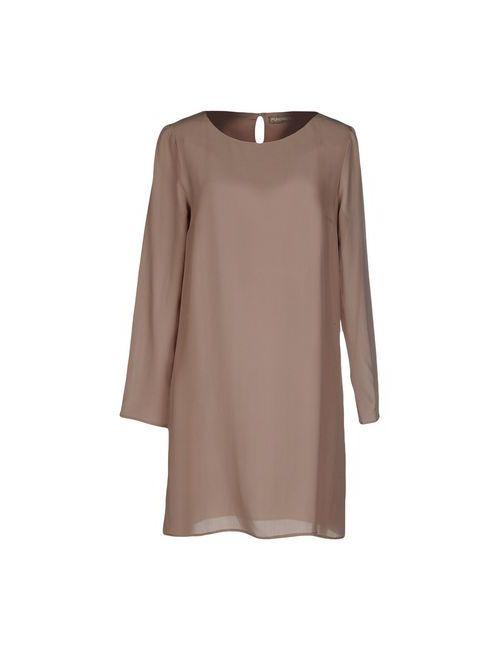 Purotatto | Женское Серое Короткое Платье