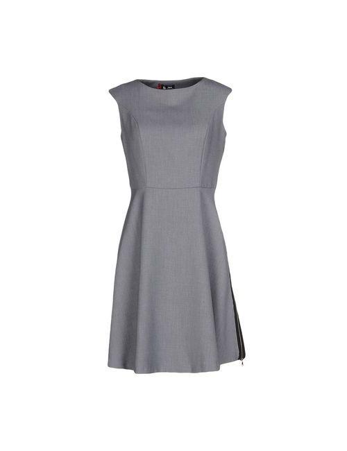 Sinequanone | Женское Серое Короткое Платье