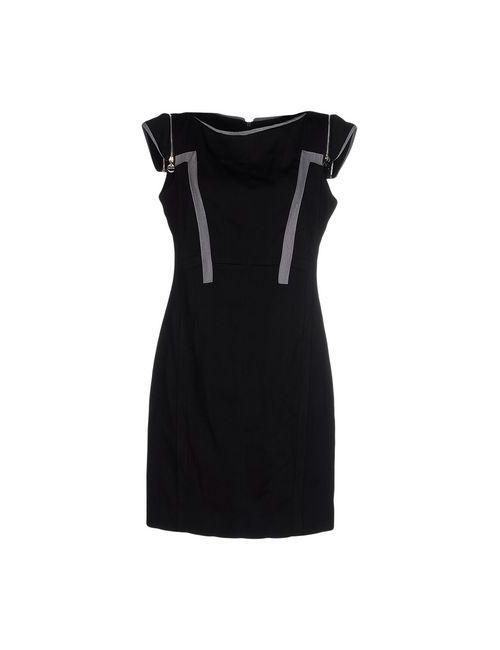 Amorimiei Paolo Petrone   Женское Чёрное Короткое Платье