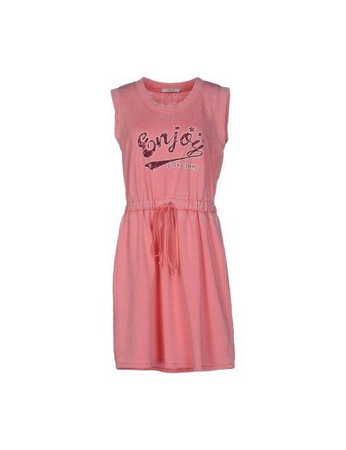 Liu •Jo Jeans | Женское Розовое Короткое Платье