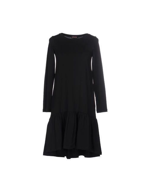 Rose' A Pois   Женское Чёрное Короткое Платье