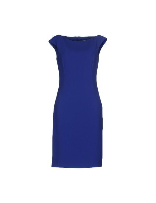 Alberto Biani | Женское Синее Короткое Платье