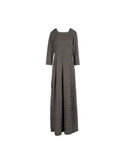 Garage Nouveau | Женское Чёрное Длинное Платье