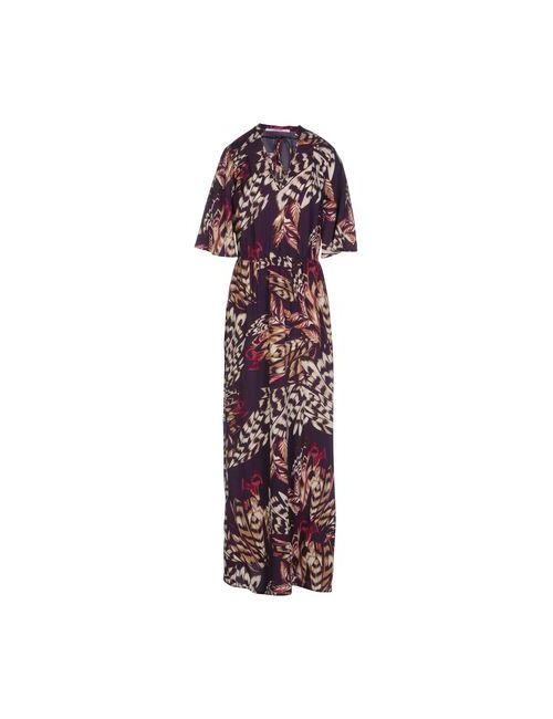 Liu •Jo Jeans | Женское Фиолетовое Длинное Платье