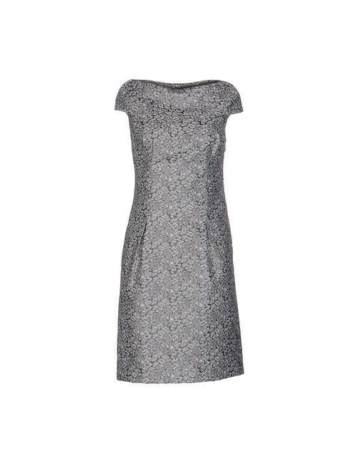 Bgn | Женское Серое Короткое Платье