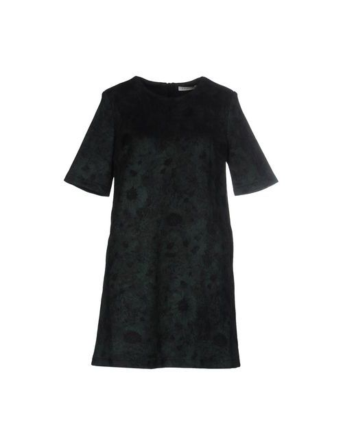 FRNCH | Женское Зелёное Короткое Платье