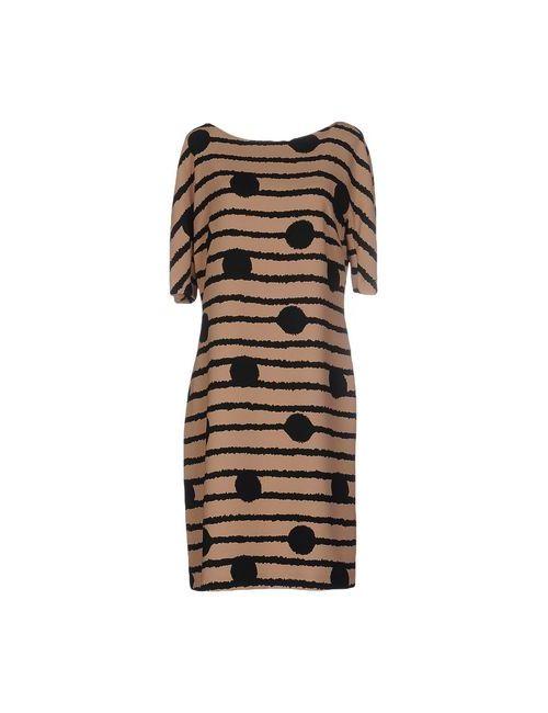 Jucca | Женское Коричневое Короткое Платье