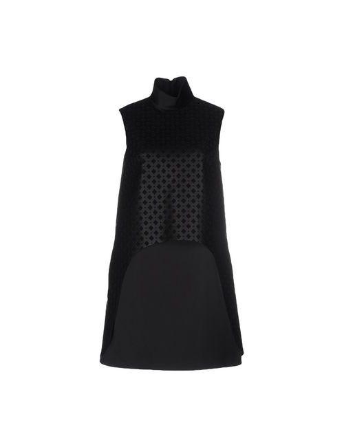 Space Style Concept | Женское Черный Короткое Платье