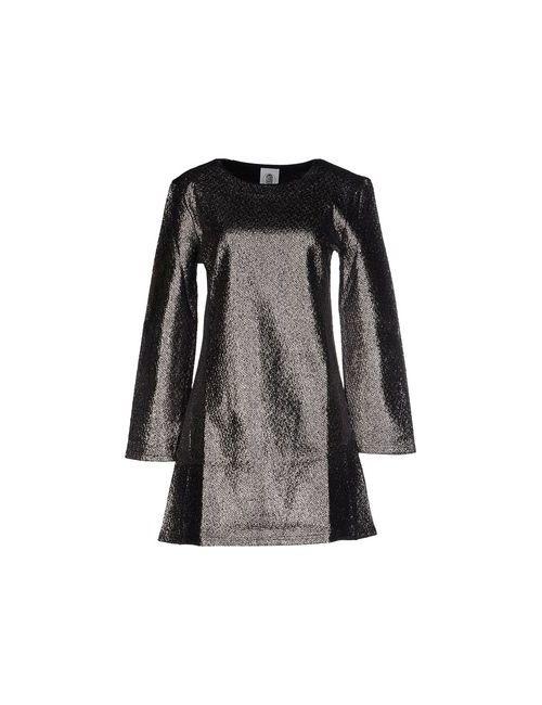 Le Volière | Женское Серебристое Короткое Платье