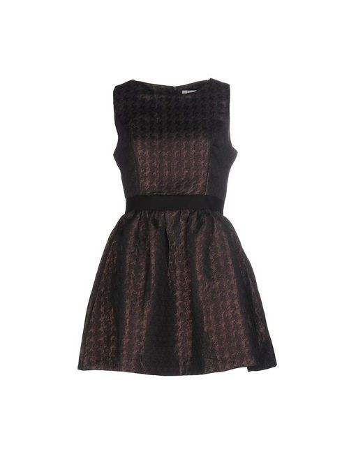 Lucy Paris | Женское Коричневое Короткое Платье