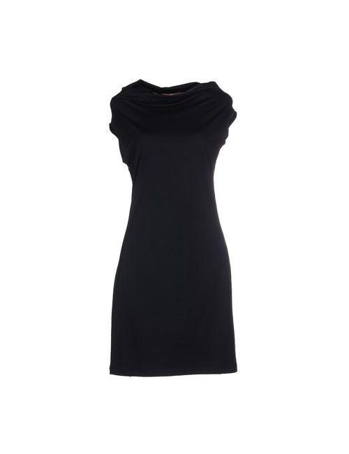 Cruciani | Женское Синее Короткое Платье