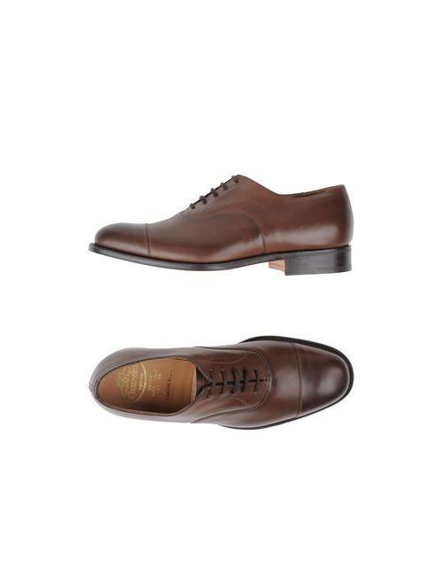 Church'S   Мужская Коричневая Обувь На Шнурках