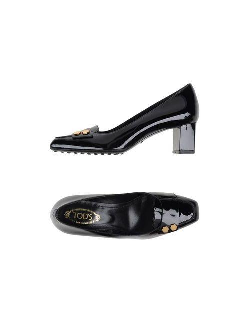 Tod'S | Женские Чёрные Туфли