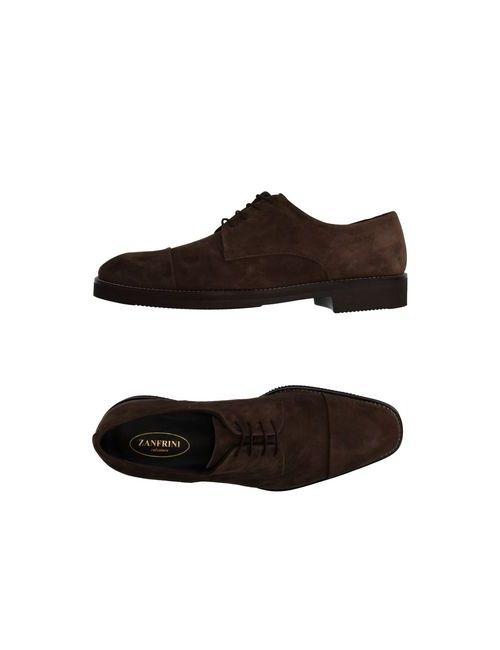 Zanfrini Cantù | Мужская Коричневая Обувь На Шнурках
