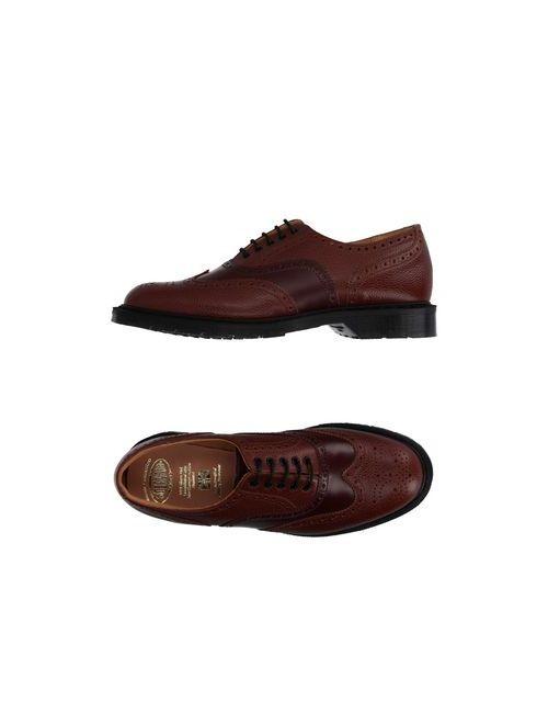 Solovair 1881 | Мужская Красная Обувь На Шнурках