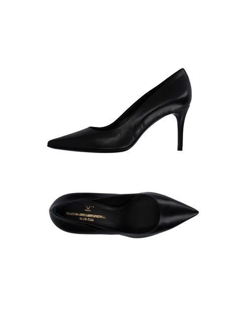 Versace 19•69 | Женские Чёрные Туфли