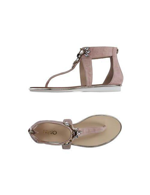 Liu •Jo Shoes | Женские Розовые Вьетнамки
