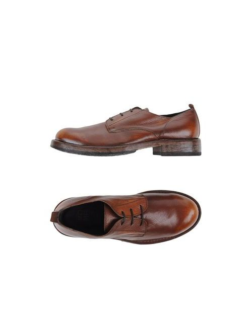Moma | Мужская Коричневая Обувь На Шнурках
