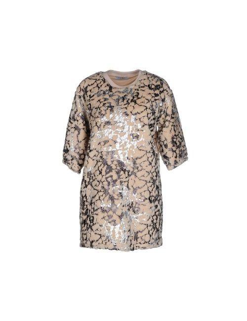 Eyedoll | Женское Бежевое Короткое Платье