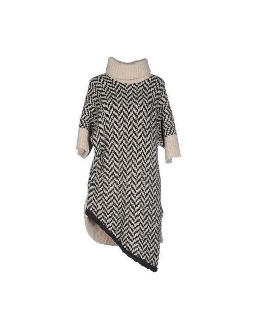 Manila Grace Denim | Женское Слоновая Костящее Короткое Платье