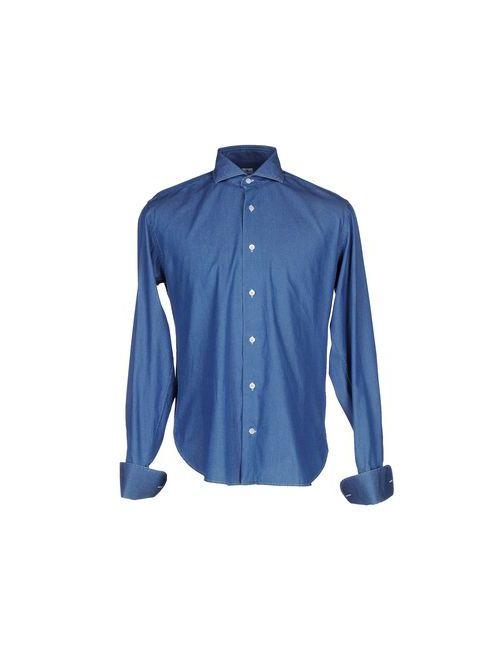 Danolis | Женская Синяя Джинсовая Рубашка