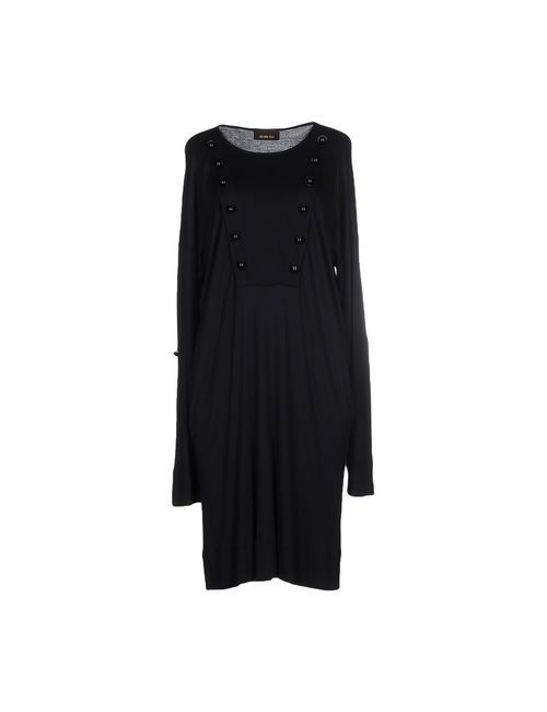 Jo No Fui | Женское Чёрное Платье До Колена
