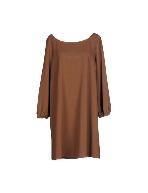 SOALLURE | Женское Хаки Короткое Платье