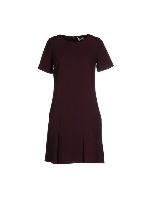 Sinequanone | Женское Баклажанное Короткое Платье