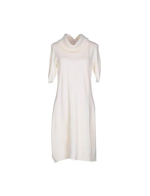 Gran Sasso | Женское Слоновая Костящее Короткое Платье