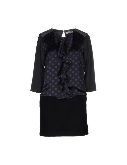 E-GÓ | Женское Чёрное Короткое Платье