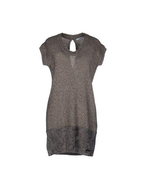 Liu •Jo Jeans   Женское Хаки Короткое Платье