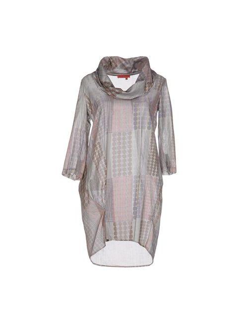 Manila Grace Denim | Женское Зелёное Короткое Платье