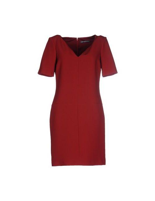 CARLA MONTANARINI | Женское Коричневое Короткое Платье
