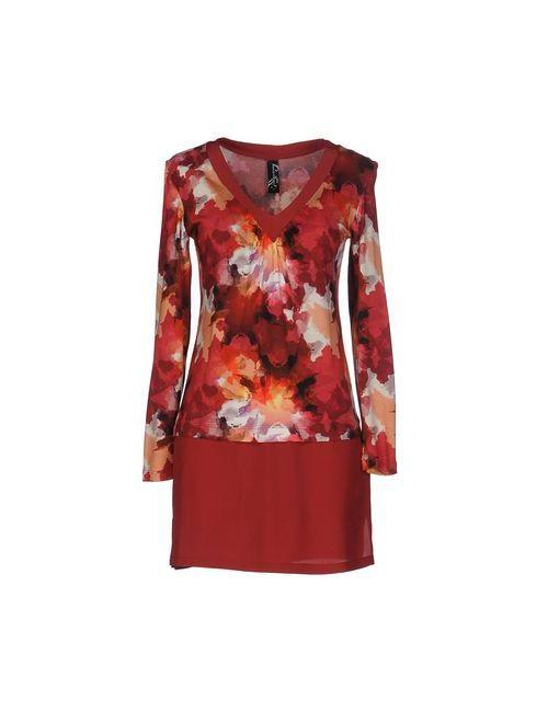 Pianurastudio | Женское Красное Короткое Платье