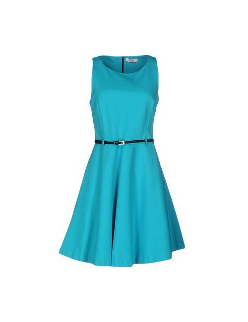 Blugirl Folies | Женское Бирюзовое Короткое Платье