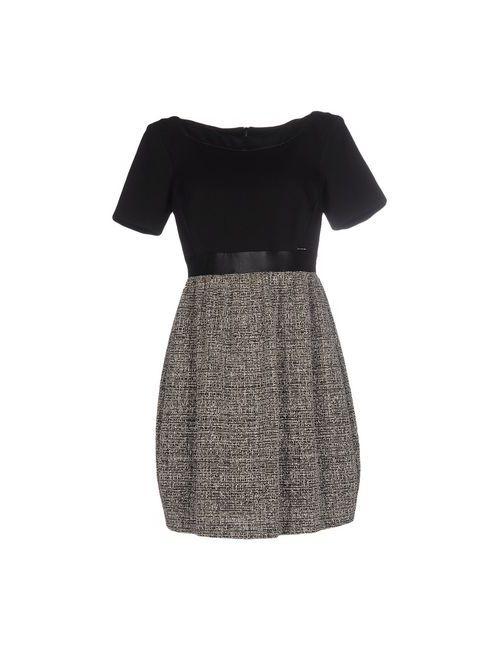 CARLA MONTANARINI | Женское Чёрное Короткое Платье