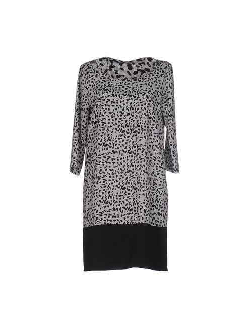 Siste' S | Женское Серое Короткое Платье