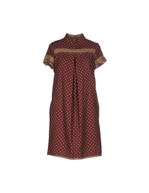 Manila Grace   Женское Фиолетовое Короткое Платье
