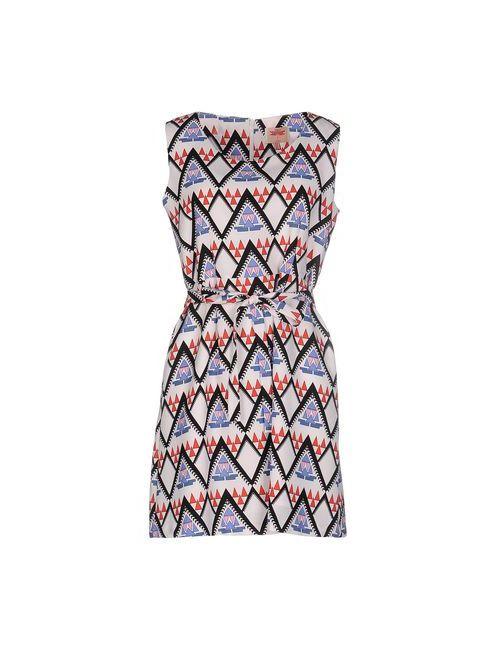 Orion London | Женское Розовое Короткое Платье