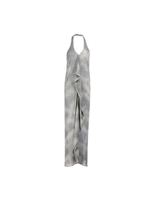 Caractere | Женское Серое Длинное Платье